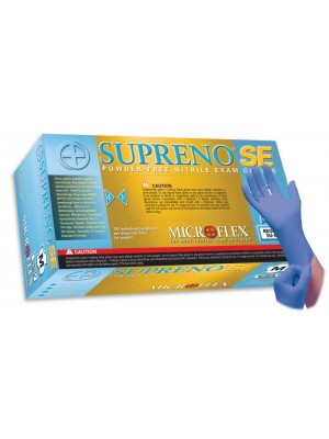Microflex Supreno Powder Free Nitrile Gloves