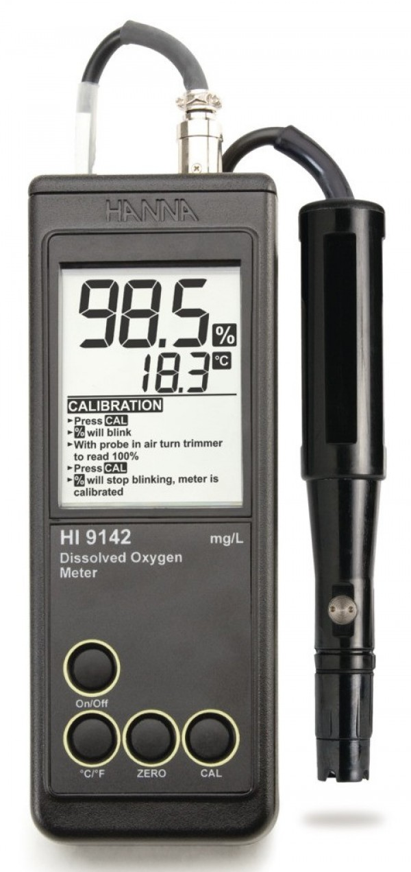 Hanna Model 9142 Do And Temperature Meter Envirotech Services